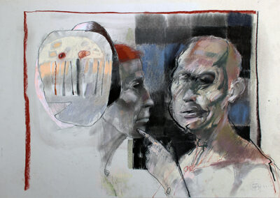 Tiszagát portraits (Layers) III.