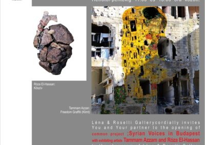 Tammam Azzam, Róza El Hassan: Syrian Voices in Budapest