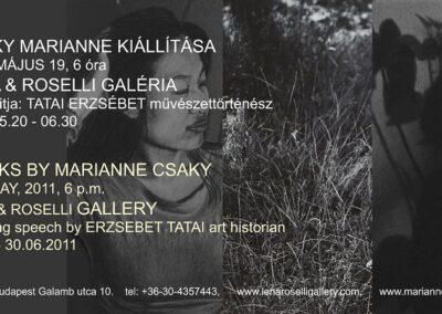Works by Marianne Csáky