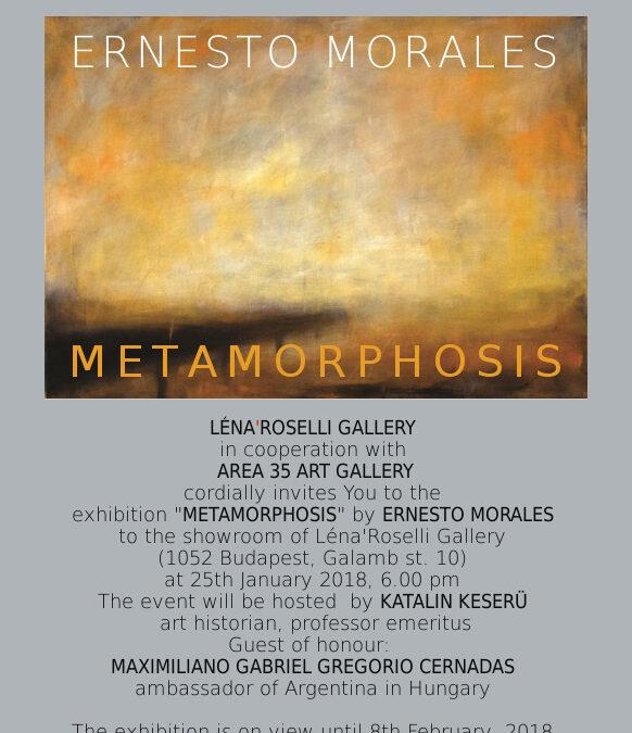 Ernesto Morales – Metamorphosis