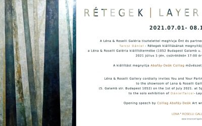 Upcoming exhibition : 1st of July / Daniel Tarcsi