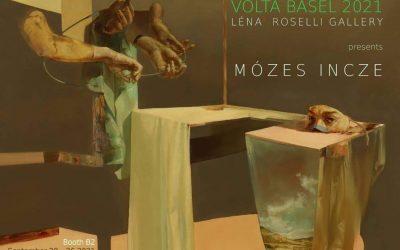 Invitation for VOLTA Basel presenting artist, Mózes Incze at booth B2
